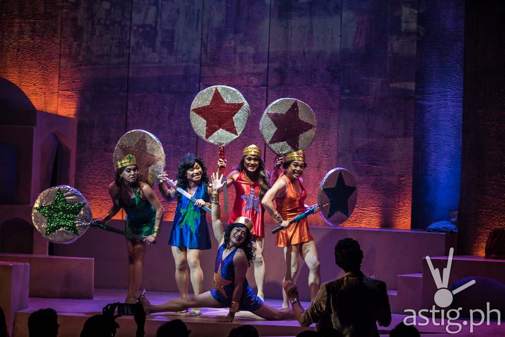 Care Divas is sprinkled with a healthy dose of gay comedy to lighten the mood (photo: Raffy Yllana)