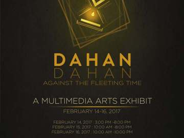 Dahan-Dahan Against the Fleeting Time event poster