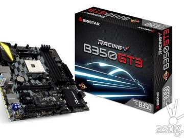 Biostar Racing RACING B350GT3 RYZEN motherboard