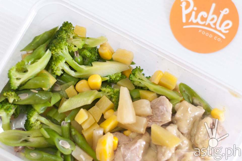 High protein meal from Pickle Philippines