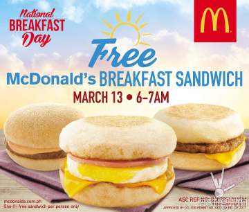 McDonald's Philippines National Breakfast Day