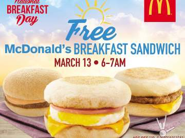McDonald's Philippines National Breakfast Day