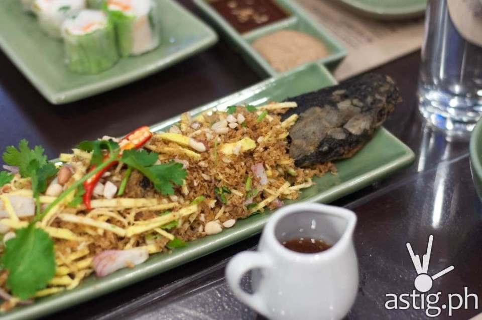 Soi Thai Crispy Catfish with Mango Salad