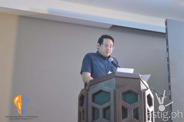Bam Aquino at ENTECH Summit 2017