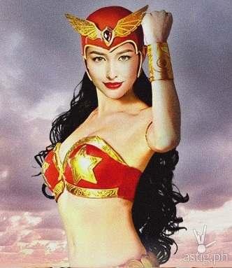 Photoshopped photo of Liza Soberano as Darna