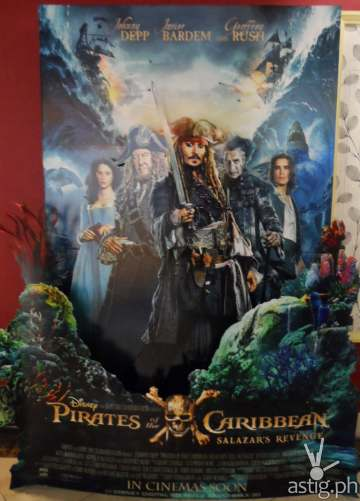 Pirates of the Carribean poster