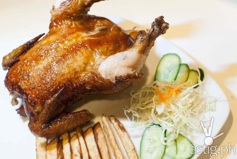 Chinese Fried Chicken (P528) - Let's Chow Rice and Noodle Haus restaurant Makati Cinema Square