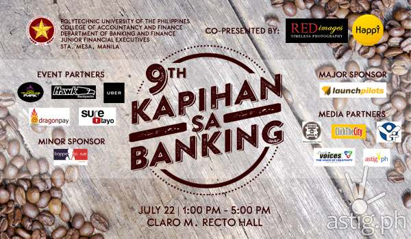 Kapihan sa Banking PUP event poster