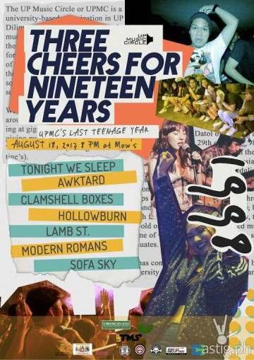 UPMC Anniversary Gig Poster