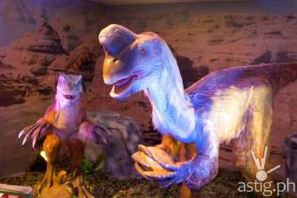 Oviraptor - Dinosaurs Around The World exhibit - Mind Museum BGC
