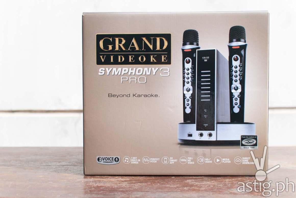 Grand Videoke Symphony 3 Pro box