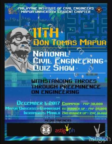 11th Don Tomas Mapua National Civil Engineering Quiz Show