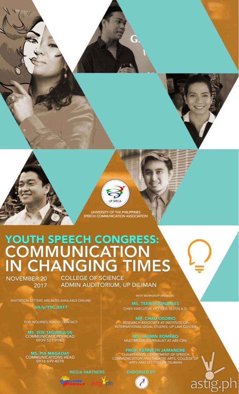 Youth Speech Congress 2017 event poster