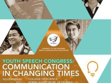 Youth Speech Congress 2017 event poster