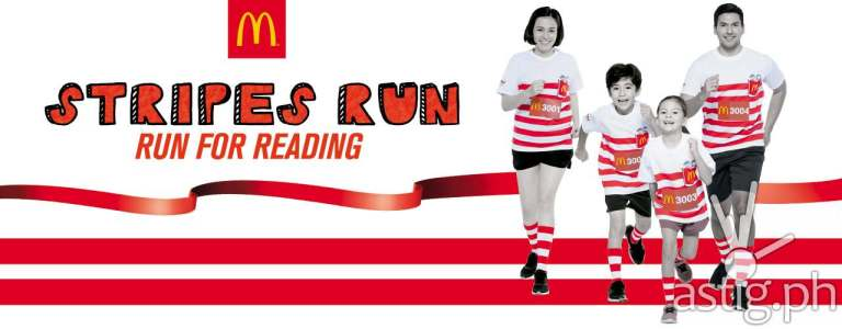 McDonald's Stripes Run 2017