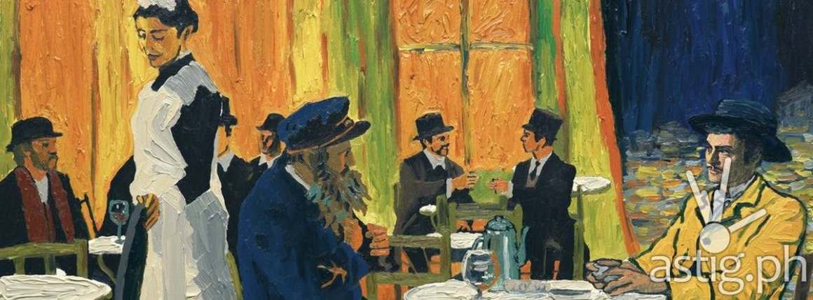 outdoor cafe - Loving Vincent