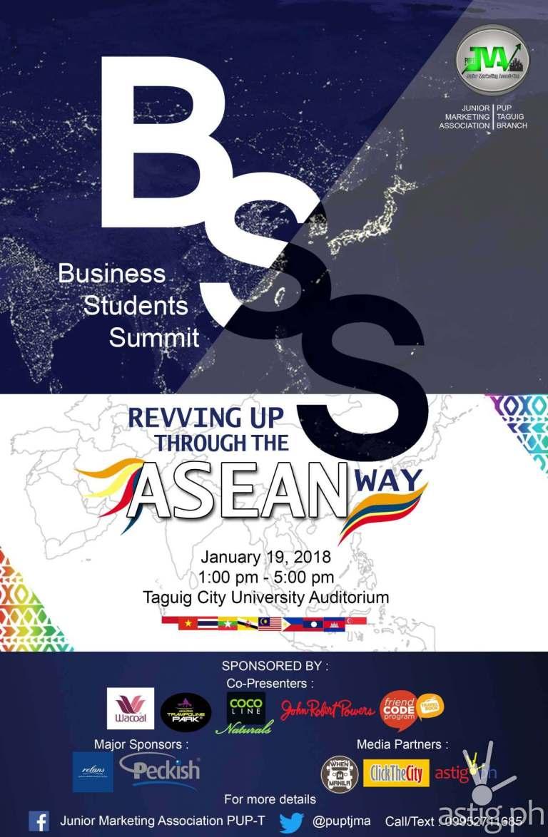 BSS event poster