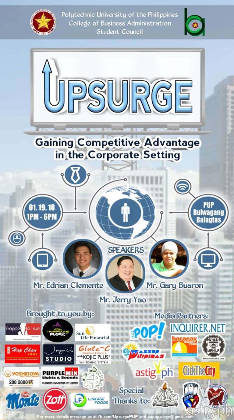 Upsurge poster