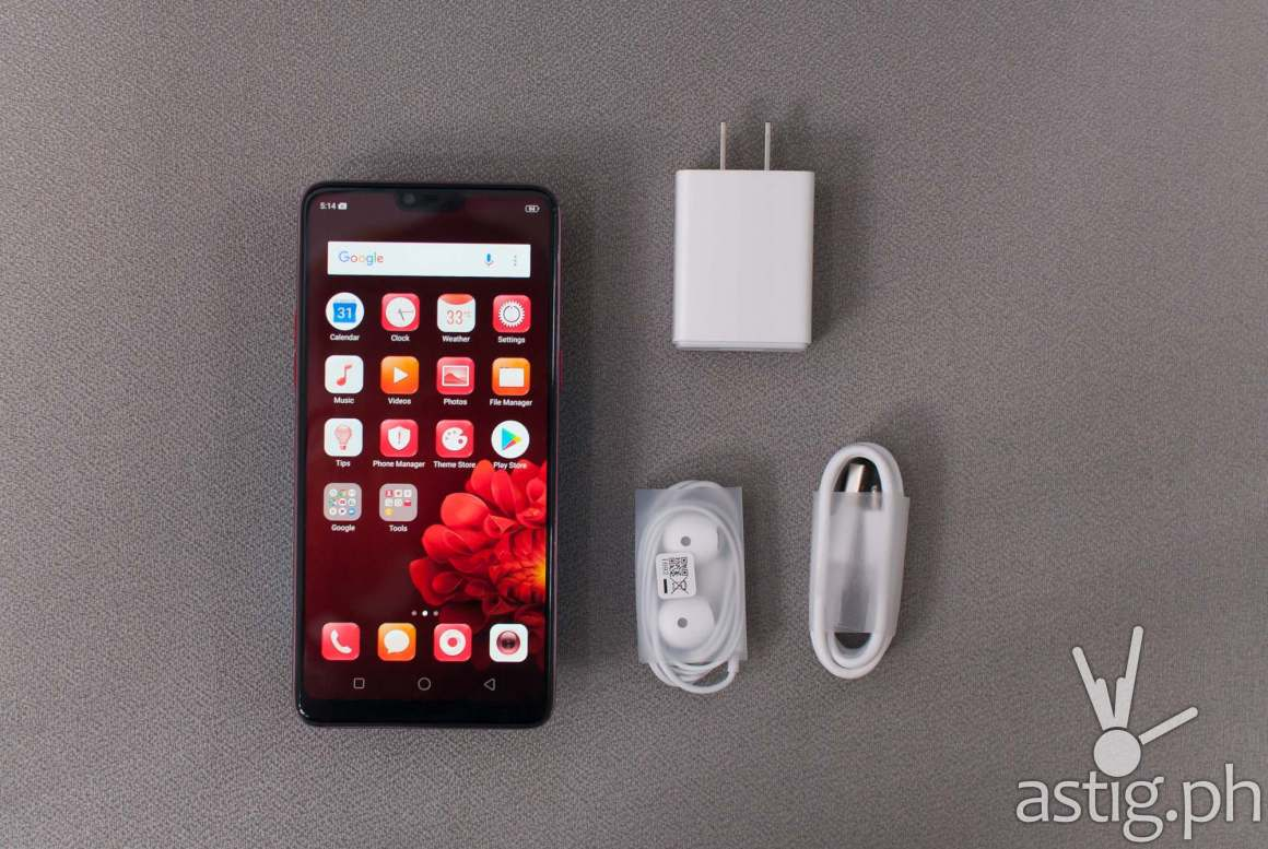 OPPO F7 unboxing