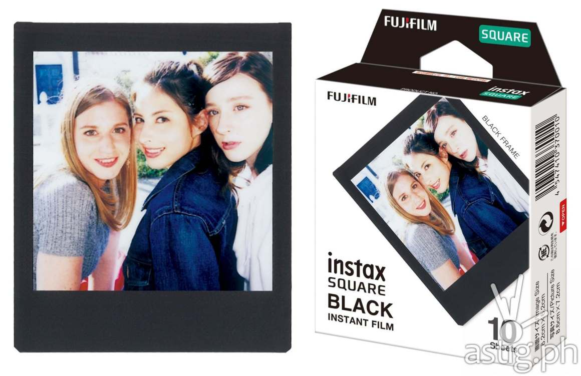 instax square black frame