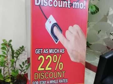 Hotel Sogo fingerprint discount