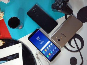 Samsung Galaxy J6 Black and Gold