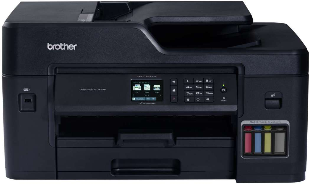 Brother MFC-T4500DW inkjet printer A3