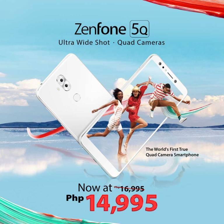 ZenFone 5Q Price drop