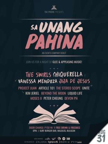 Sa Unang Pahina Official Poster
