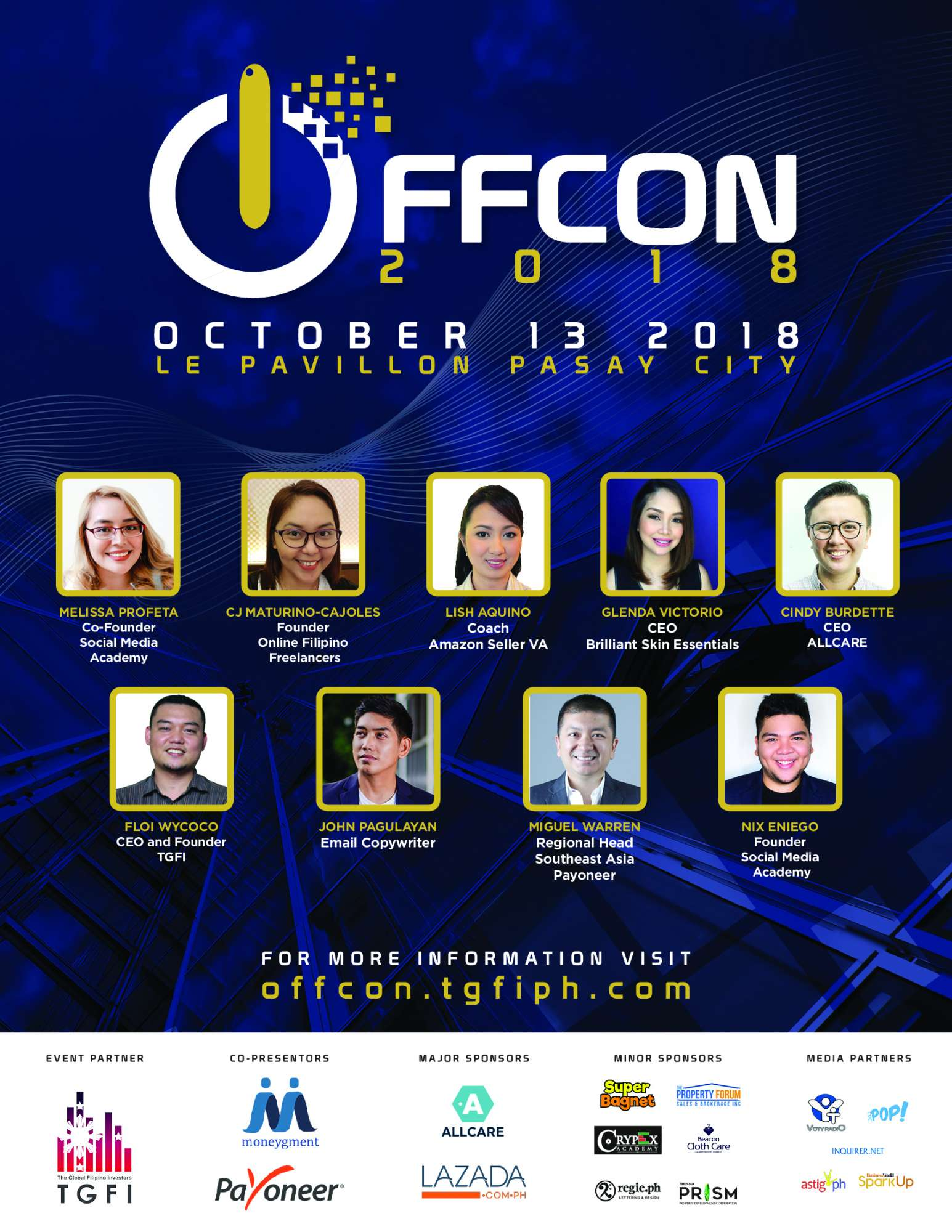 Offcon speakers