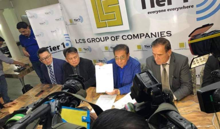 Chavit's LCS – TierOne invests in satellites in bid to become 3rd PH telco