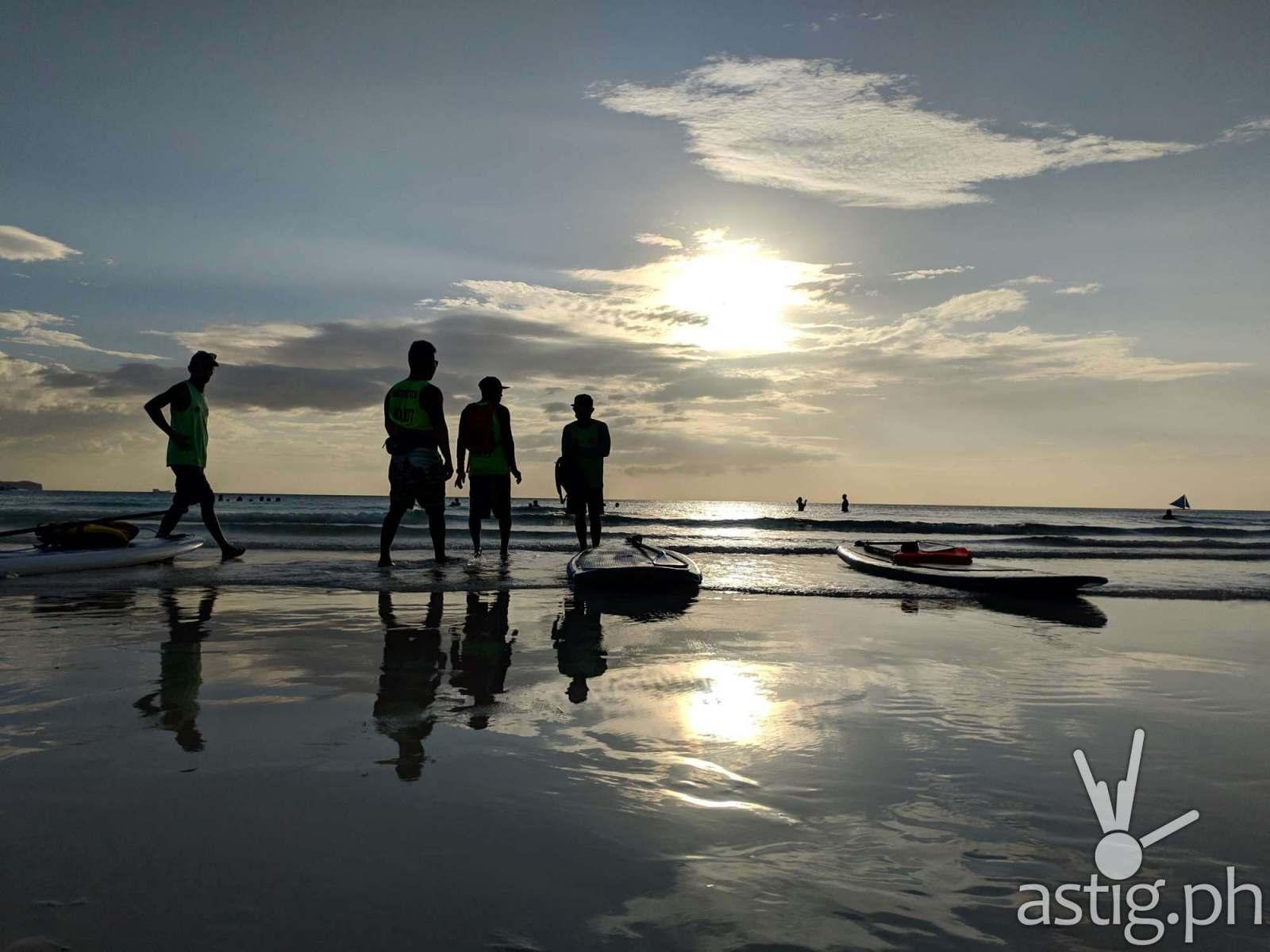 Reflection - Boracay Philippines re-opening smartphone photo - ASUS ZenFone 5 by Den Uy of TechKuya