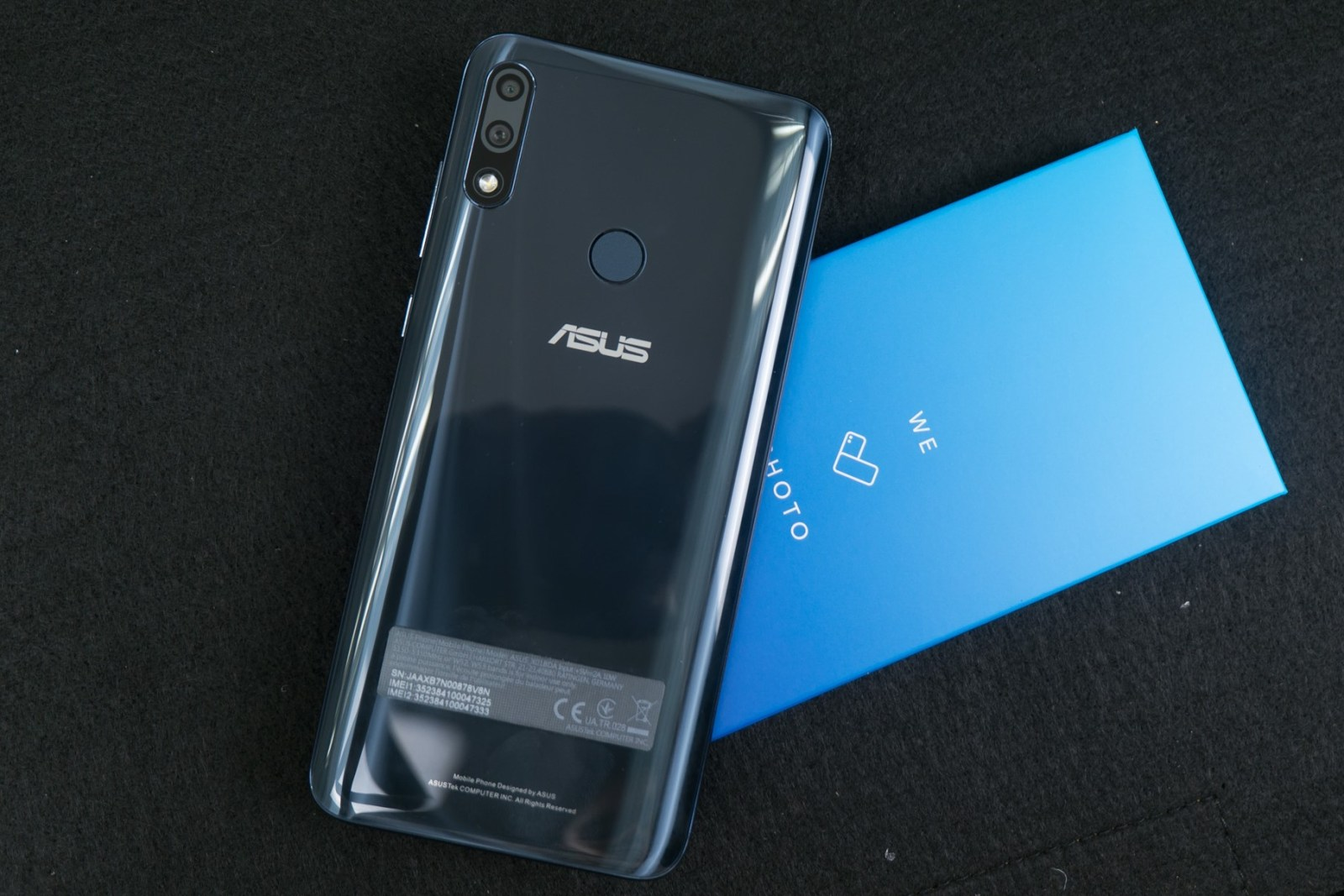 Back on box - ASUS ZenFone Max Pro M2 (Philippines)