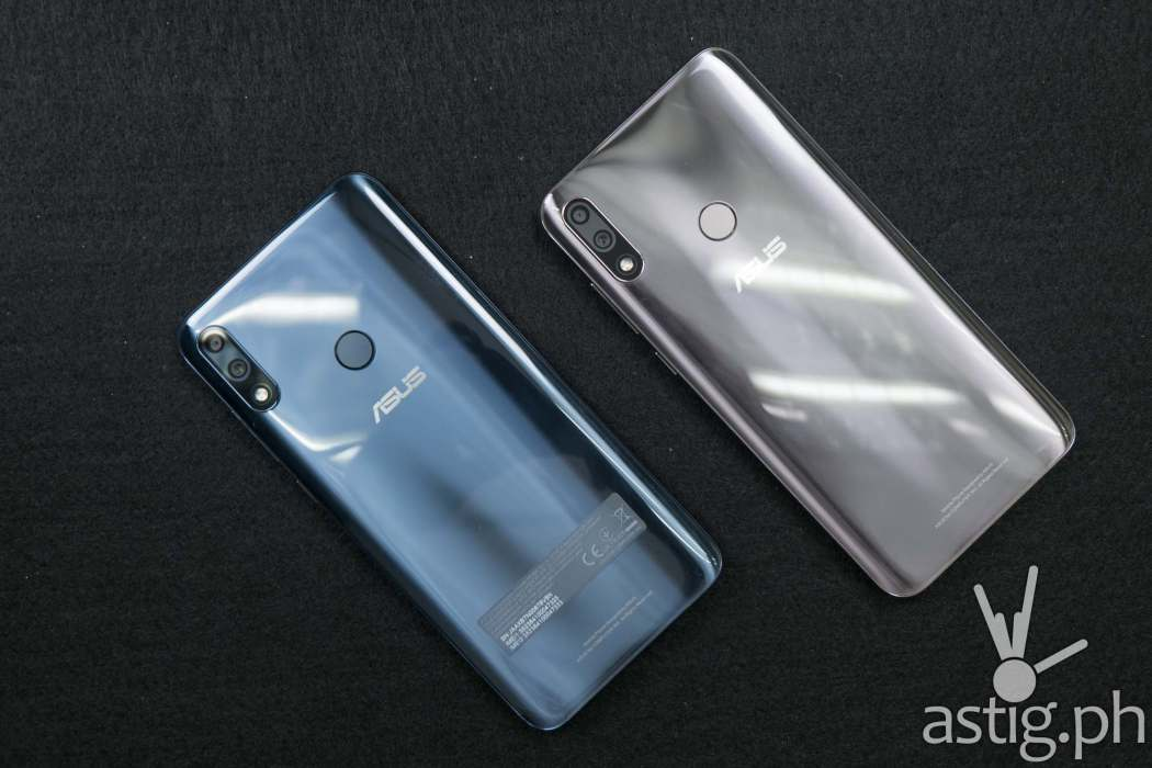 Blue and silver ASUS ZenFone Max Pro M2 (Philippines)
