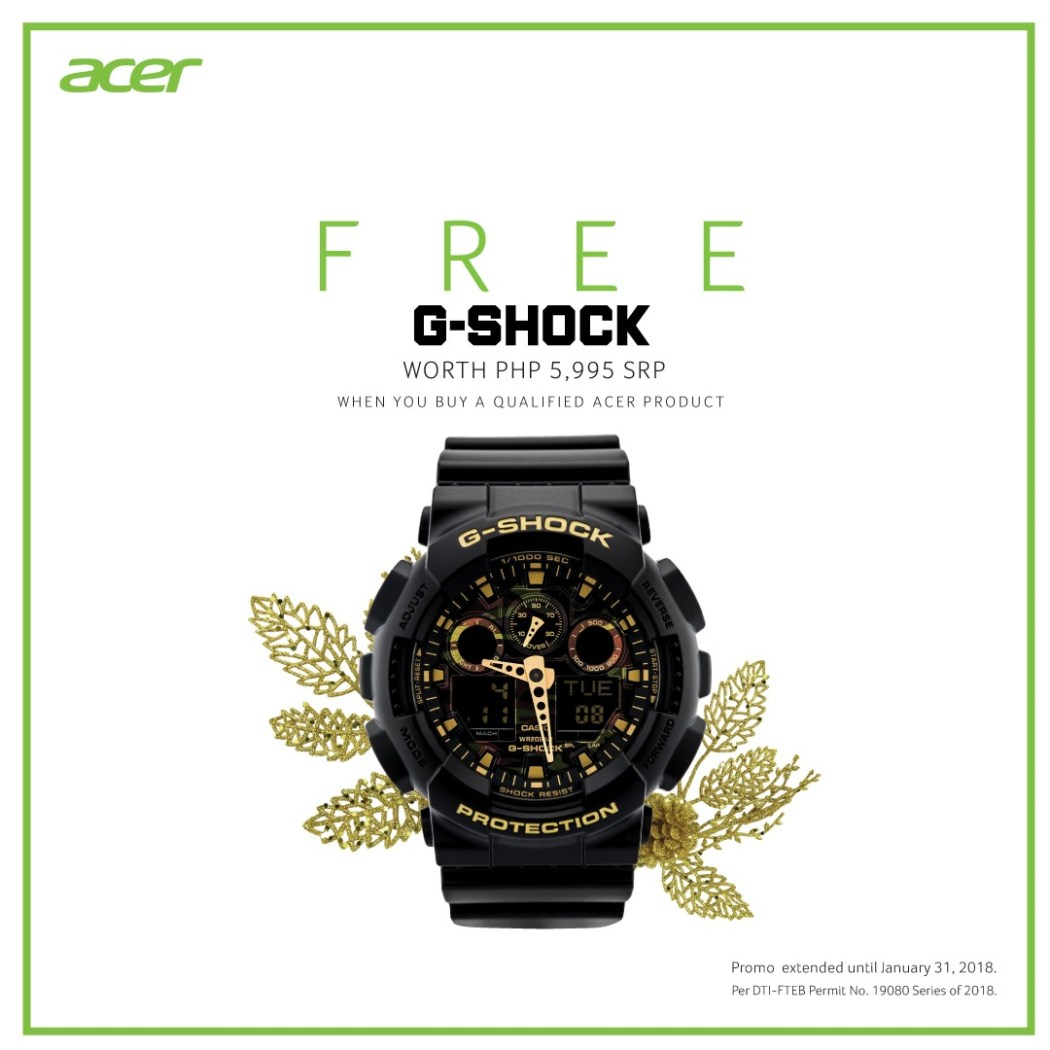 Acer Free GShock Camouflage series watch