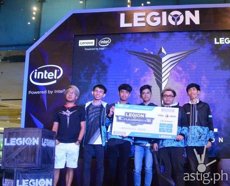 Philippines team - ArkAngel Lenovo Legion