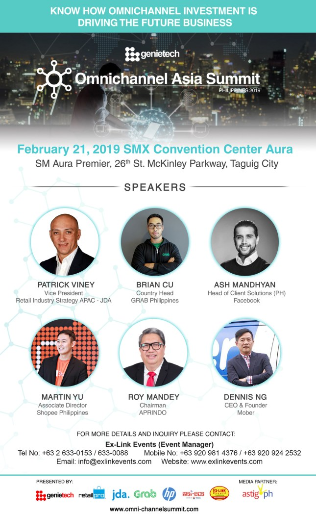 Omnichannel Asia Summit Philippines 2019: Connecting the Customer Journey