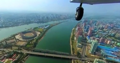 World's First Aerial 360° Video Over North Korea 2017