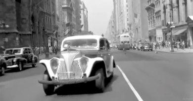 A 1945 Car Dashcam