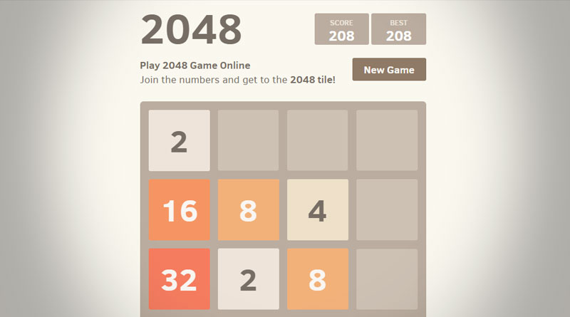 Play 2048 Game Online
