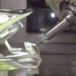 5 Axis Robot Carves Metal Like Butter