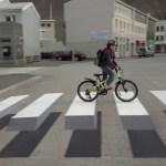 This Pedestrian Crossing is Sure to Get the Motorist's Attention
