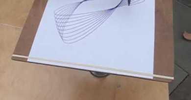 Three Pendulum Rotary Harmonograph