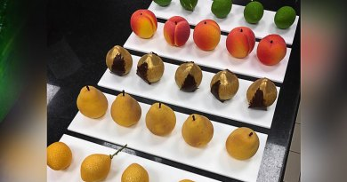 Chef Forms Realistic Cakes That Look Just Like Actual Fruits