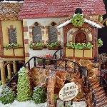 Wonderful Timelapse of the Baking and Building of an Elaborate Homemade Gingerbread House