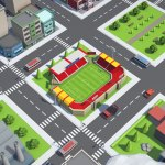 Infinitown: Endless 3D Animated City in Your Browser