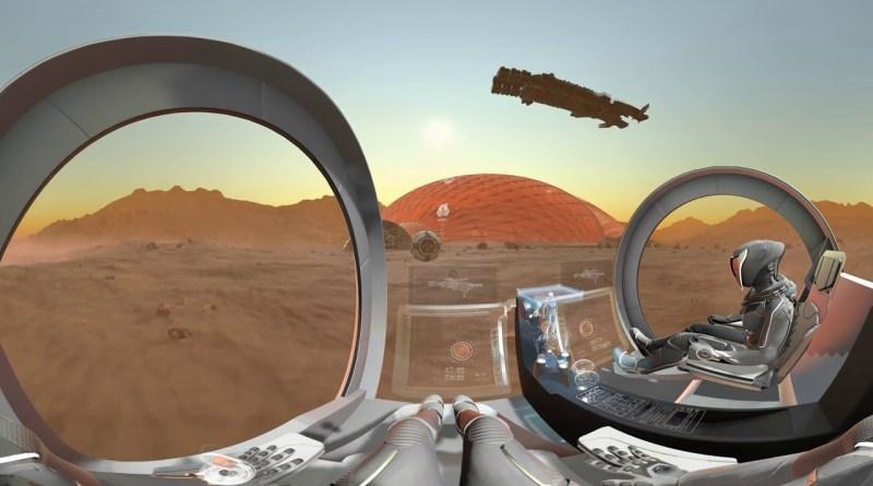 Mars 2117 in 360°