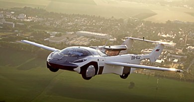 The Flying Car has Completed its First Inter-city Flight