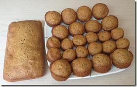 zucchini muffs/bread