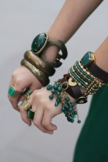 Green and Bronze Arm Candy